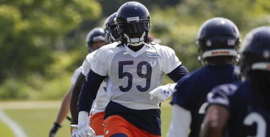 Danny Trevathan returns to practice Monday